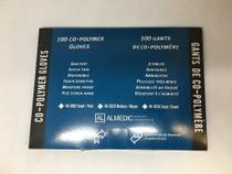 Almedic 40-3020 COPOLYMER GLOVES, POWDER FREE, MEDIUM BX/100 (ALMEDIC 40-3020)