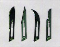 ALMEDIC A6-124 SCALPEL BLADE Sterile S/S Size 12 BX/100 (ALMEDIC A6-124)