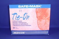 AMD 2000 PROCEDURE MASKS, SURGICAL, TIE-ON, BLUE, BX/50