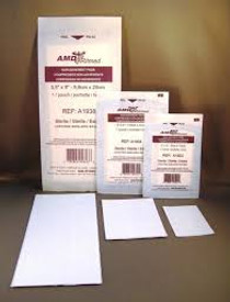 "AMD A1934 STERILE NON-ADHERENT DRESSING, 3""x 4"" (CS/12) BX/100"