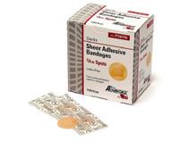 "Pro Advantage P150150 Sheer Adhesive Bandage, Spots, 7/8"" Diameter 100/bx"