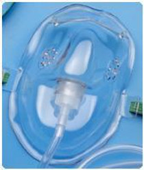 BAXTER 001201 AIRLIFE ADULT OXYGEN MASK WITH 7FT TUBING (Baxter 001201)