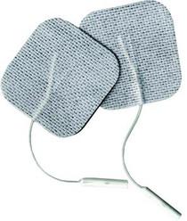 "BioMedical EERC200 PKG/4 BIOSTIM PIGTAIL ElectrodeS 2"" X 2"""