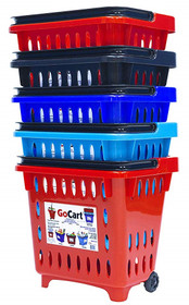 "Stevens 139-SC-18 Basket Shopping Blue folding 14""x16""x18"" LIGHTWEIGHT (139-SC-18) (Stevens 139-SC-18)"