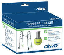 Drive 10119 Tennis Ball Glides with Replaceable Glide Pads