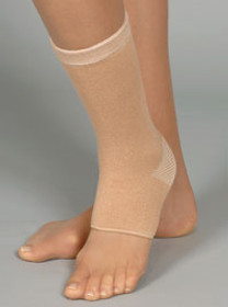 BSN 40400430 SILVER LABEL PROLITE KNIT ANKLE SUPPORT, Small, BEIGE
