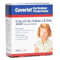BSN-4643000 (CS6) BX/20 COVERLET EYE OCCLUSION DRESSING 5CM X 7.5CM