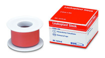 BSN-7235909 BX/5 LEUKOPLAST SLEEK LATEX FREE ZINC OXIDE PLASTIC WATERPROOF TAPE 5CM X 3M, SPOOLS