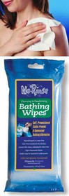 No Rinse Bathing Wipe Pre-moistened 8 pack (01000) (CleanLife 01000)