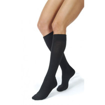 BSN-7766902 PR/1 JOBST AMBITION MEN, KNEE HIGH, 30-40MMHG, 3 REGULAR, BLACK, CLOSED TOE