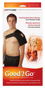 "Battle Creek 493 Good2Go Shoulder Heat Therapy, 13"" X 14"", Retail Box"
