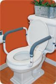 """CAREX 36800 TOILET SUPPORT RAIL, WIDTH BETWEEN ARMS: 16"""" -18"""" (CAREX 36800)"""
