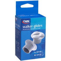 "Carex A83500 WALKER GLIDE 7/8"" WALKER & 1"" TUBING PK/2 (NON-RETURNABLE)"