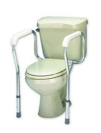 Carex B356CO TOILET SAFETY FRAME (NON- RETURNABLE) CS/2 (Carex B356CO)