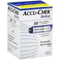 DI 06453970164 ACCUCHEK AVIVA CARE STRIPS, BX/50
