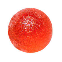 FAB 101492 CANDO GEL HAND EXERCISE BALL, RED, LIGHT STRENGHT (FAB 101492)