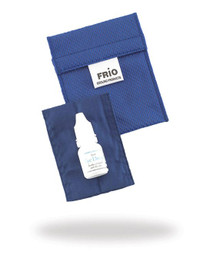 FRIO 1130-EYE FRIO EXTRA SMALL EYE-DROP WALLET (COLORS: RED, BLUE, BURGUNDY, GREEN, BLACK, PURPLE) (FRIO 1130-EYE)