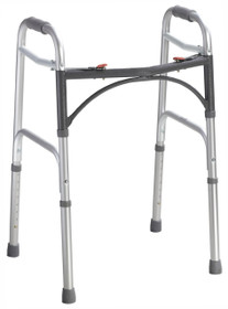 Drive Medical 10201-4 Deluxe Two Button Junior Walker
