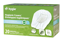 HYGIE CLBI000 HYGENIC COVERS FOR BEDPAN AND COMMODE BX/20