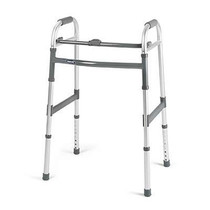 Invacare 6281A CS/4 I-CLASS SINGLE-RELEASE FOLDING WALKER, STYLE ADULT