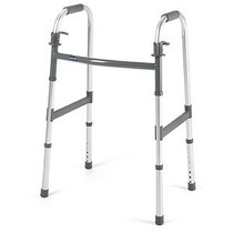 Invacare 6291A I-CLASS DUAL-RELEASE PADDLE FOLDING WALKER (walker without wheels), STYLE ADULT