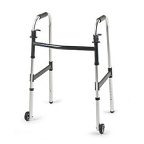 "Invacare 6291JR3F I-CLASS DUAL-RELEASE WHEELED WALKER, JUNIOR WITH 3"" WHEELS"