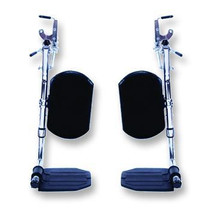 INVACARE T94HE PK/2 COMPOSITE FOOTRESTS WITHOUT HEEL LOOPS FOR TRACER/9000 WHEELCHAIRS (Invacare T94HE)