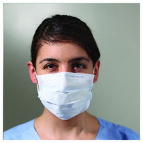 Kimberly-Clark 25869 KC100 EARLOOP PROCEDURE MASK, BLUE