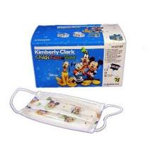 Kimberly-Clark 32856 BX/75 DISNEY CHILD FACE EARLOOP MASK