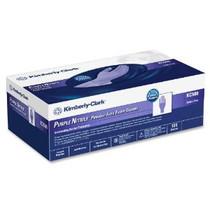 Kimberly Clark 55083 PURPLE NITRILE EXAM GLOVES, POWDER FREE, SIZE LARGE 9.5 BX/100