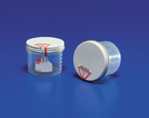 "Covidien 2210SA Precision Specimen Container, Positive Seal Indicator, 1.5 oz. Capacity, 1-3/4"" x 1- 3/4"" Size (Pack of 200)"