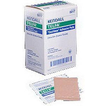 """Kendall 6017 (CS24) BX/100 TELFA OUCHLESS ADHESIVE DRESSING, 2"""" X 3"""" (Kendall 6017)"""