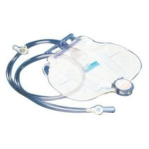 Kendall 8206 CURITY ANTI-REFLUX CHAMBER DRAINAGE BAG W/ NEEDLELESS SAMPLE PORT, 2000ML (Case of 20)