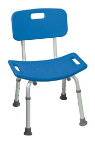 Bath Stool KD Retail Blue (2719)