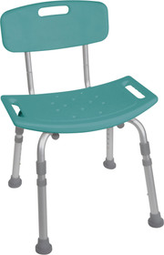 Bath Stool KD Retail Teal (2720)