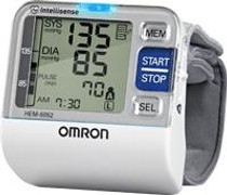 Omron Healthcare BP652 OMRON 7 SERIES WRIST BLOOD PRESSURE W/ INTELLISENSE UNIT