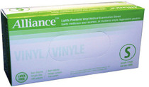 MED 2205 BX/100 ALLIANCE NON-LATEX GLOVES SMALL, LIGHTLY POWDERED (MED 2205)
