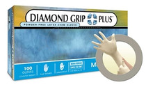 MED DGP 350S (CS10) S Diamond Latex Grip Plus Powder Free (MED DGP 350S)