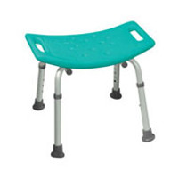 Bath Seat w/o Back KD Retail Teal (2755)