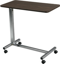 Drive 13003 Non-Tilt Overbed Table Deluxe