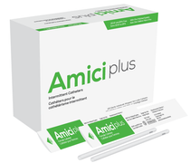 "AMICI 5608 Plus 6"" Female Intermittent Catheters, 8 Fr., Smooth Low-Profile Eyelets, DEHP & BpA Free PVC BX 100"