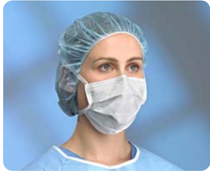 Primed 42001 PRIMAGARD 80 SURGICAL TIE MASK, CLASSIC STYLE, BLUE, BX/50 , BX