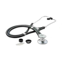 RELIAMED 0130BLK SPRAGUE-RAPPAPORT TYPE Stethoscope WITH ACCESSORY PACK, BLACK