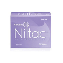 Convatec 420788 TR102 NILTAC STING-FREE ADHESIVE REMOVER WIPES BX/30