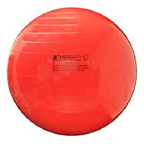 "Thera-Band 23020 Exercise Ball, 55 cm, 22"", Red, In Box (NON-RETURNABLE) (Thera-Band 23020)"