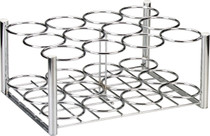 Drive Medical 18113 Steel Oxygen Cylinder Rack, M6 Cylinders Only, 12 Cylinders