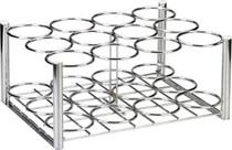 Drive Medical 18113 Steel Oxygen Cylinder Rack, M6 Cylinders Only, 12 Cylinders