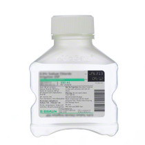 B.Braun R5201-00 SOLUTION SALINE 0.9% NACL 500ml STERILE IRRIGATION Bottle PLASTIC, Case of 16