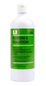 3M-918062 DEXIDIN 2 SOLUTION, SIZE 450ML (Case of 12)