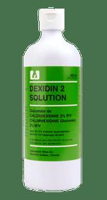 3M-918062 DEXIDIN 2 SOLUTION, SIZE 450ML (Case of 12)